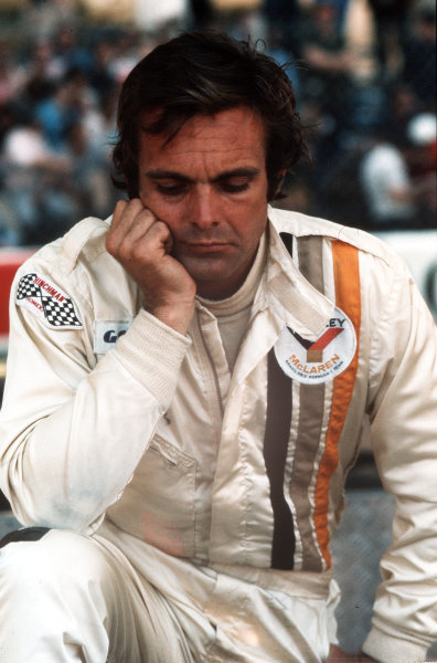 Monte Carlo, Monaco.31/5-3/6 1973.Peter Revson (McLaren Ford) 5th position.Ref-35mm 73 MON 11.World Copyright - LAT Photographic