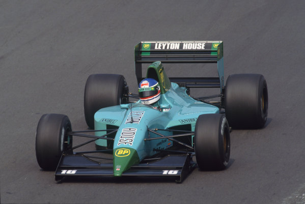 Hungaroring, Budapest, Hungary. 9th - 11th August 1991.