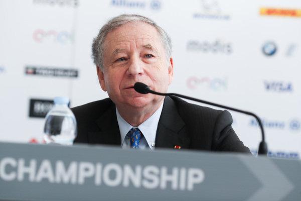 Jean Todt, FIA President.