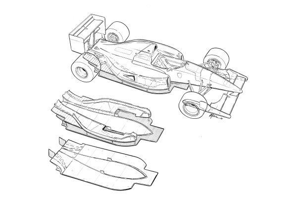 Mclaren F1 Chassis
