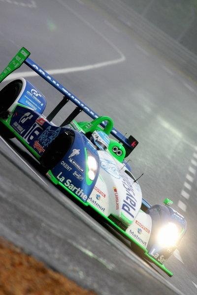 Emanuell Collard (FRA) / Jean-Christophe Boullion (FRA) / Erik Comas (FRA), Pescarolo Sport Pescarollo Judd, set fastest time in the opening practice session before gearbox problems.Le Mans 24 Hours, First Qualifying, Le Mans, France, 15 June 2005.DIGITAL IMAGE