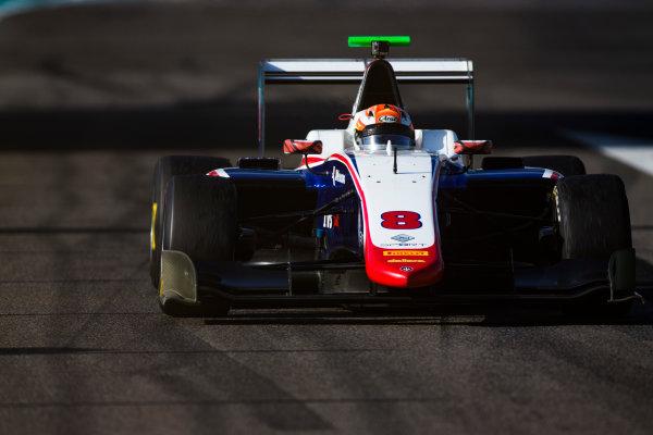 2016 GP3 Series Test 5. Yas Marina Circuit, Abu Dhabi, United Arab Emirates. Wednesday 30 November 2016. Arjun Maini (IND, Trident)  Photo: Sam Bloxham/GP3 Series Media Service. ref: Digital Image _SLA1406