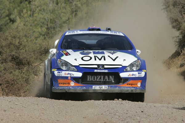 2006 FIA World Rally Champs. Round twelveCyprus Rally.21st - 24th September 2006.Manfred Stohl, Peugeot, action.World Copyright: McKlein/LAT