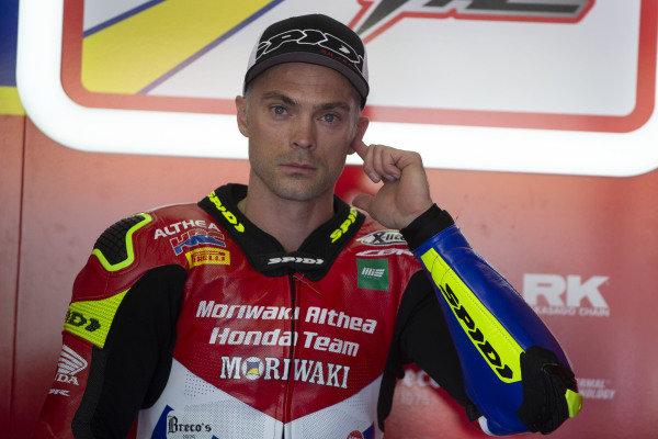 Leon Camier, Honda WSBK Team.