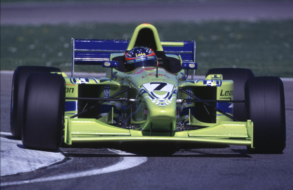 FIA International F3000 Championship Imola, Italy. 7-9/4/2000 Fernando Alonso, Team Astromega photo: World - LAT Photographic