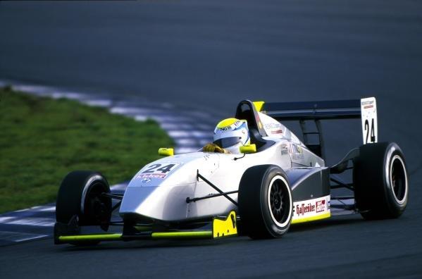 Charles Zwolsmann (NED) 2nd place.German Formula Renault Championship, 14 October 2001, Oschersleben, Germany.BEST IMAGE