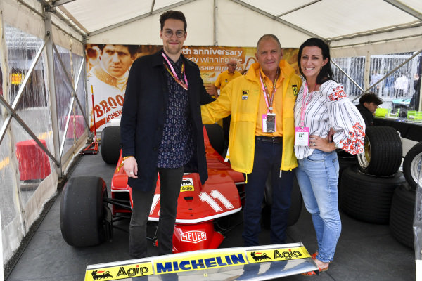 Former World Champion Jody Scheckter