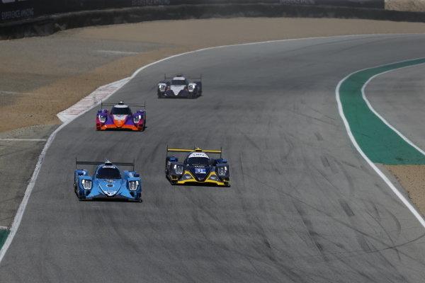#18: Era Motorsport ORECA LMP2 07, LMP2: Dwight Merriman, Ryan Dalziel, #11: WIN Autosport ORECA LMP2 07, LMP2: Steven Thomas, Tristan Nunez