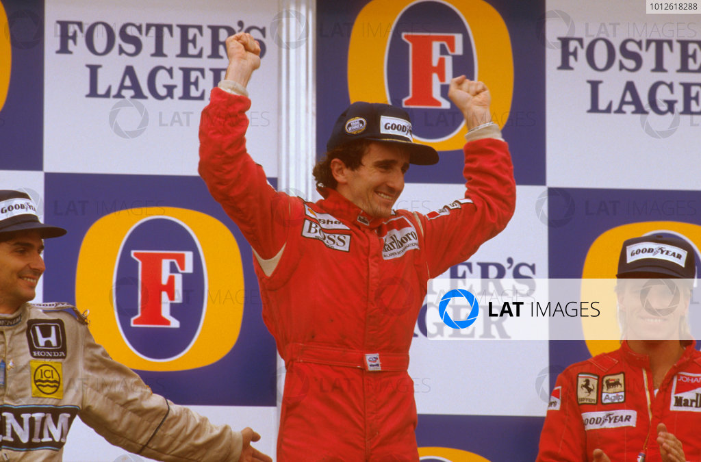 1986 Australian Grand Prix.