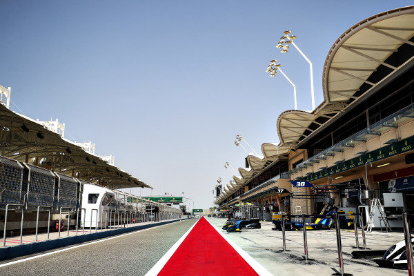 A view of the circuit in Bahrain