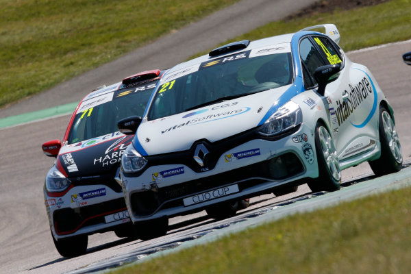 Renault Clio Cup Rockingham, 26th-27th August 2017, Mike Bushell (GBR) Team Pyro Renault Clio Cup World copyright.. JEP/LAT Images