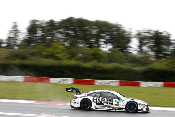 2017 DTM Round 7  Nürburgring, Germany  Saturday 9 September 2017. Tom Blomqvist, BMW Team RBM, BMW M4 DTM  World Copyright: Alexander Trienitz/LAT Images ref: Digital Image 2017-DTM-Nrbg-AT1-0737