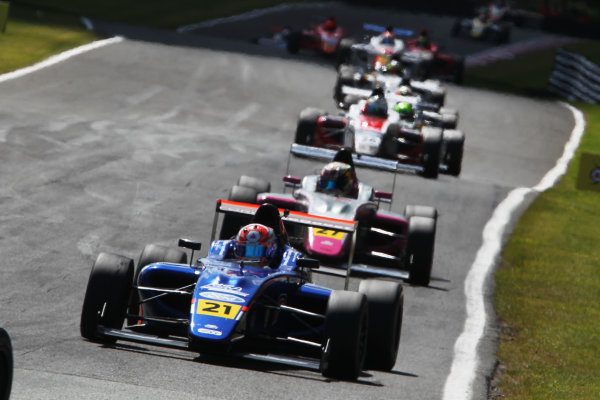 2015 MSA Formula Powered by Ford EcoBoost, Oulton Park, Cheshire. 5th - 7th June 2015. Petru Florescu (ROM) Carlin MSA Formula. World Copyright: Ebrey / LAT Photographic.