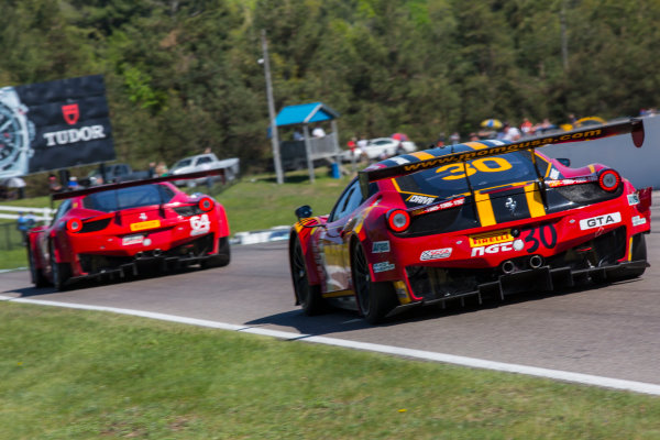 15-17 May 2015, Bowmanville, Ontario Canada Henrique Cisneros, #30 Ferrari 458 GT3 Italia ?2015, Brian Cleary LAT Photo USA