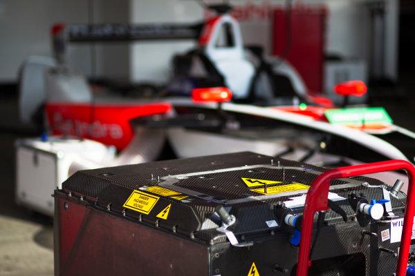 FIA Formula E Championship 2015/16. Beijing ePrix, Beijing, China. Williams battery Free Practice 2 Beijing, China, Asia. Saturday 24 October 2015 Photo: Sam Bloxham / LAT / FE ref: Digital Image _G7C8297
