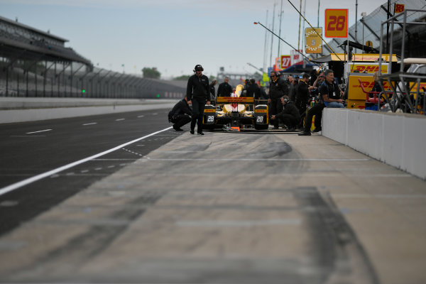 Verizon IndyCar Series IndyCar Grand Prix Indianapolis Motor Speedway, Indianapolis, IN USA Friday 12 May 2017 Ryan Hunter-Reay, Andretti Autosport Honda World Copyright: Scott R LePage LAT Images ref: Digital Image lepage-170512-indy-0248