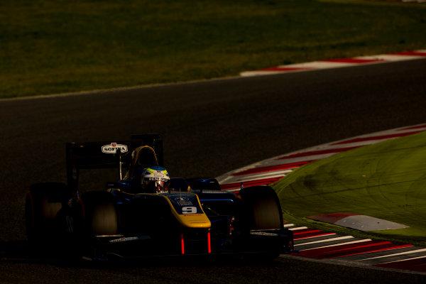Circuit de Barcelona Catalunya, Barcelona, Spain. Monday 13 March 2017. Oliver Rowland (GBR, DAMS). Action.  Photo: Alastair Staley/FIA Formula 2 ref: Digital Image 585A7382