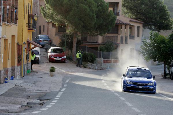 Round 11, Rally of Spain, Catalunya2nd-5th October 2008Chris Atkinson, Subaru, actionWorldwide Copyright: McKlein/LAT