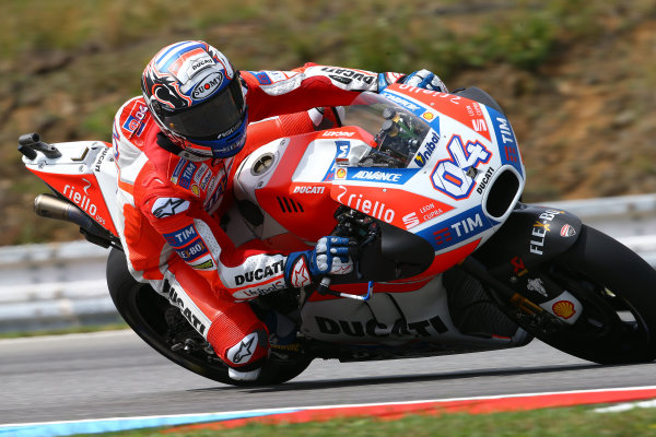 2017 MotoGP Championship - Round 10 Brno, Czech Republic Friday 4 August 2017 Andrea Dovizioso, Ducati Team World Copyright: Gold and Goose / LAT Images ref: Digital Image 683780