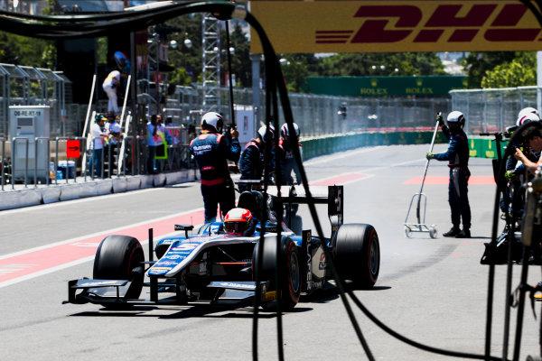 2017 FIA Formula 2 Round 4. Baku City Circuit, Baku, Azerbaijan. Saturday 24 June 2017. Luca Ghiotto (ITA, RUSSIAN TIME)  Photo: Zak Mauger/FIA Formula 2. ref: Digital Image _56I7668