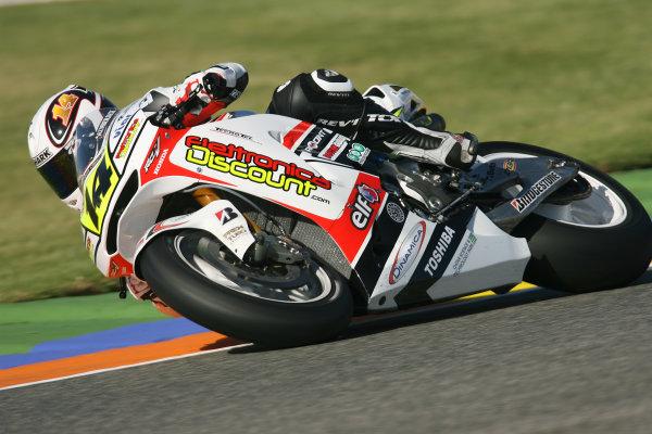 Spain Valencia Nov 05-07Randy de Puniet LCR Honda