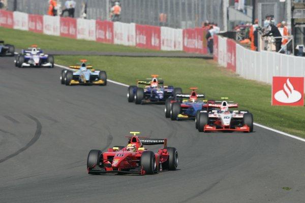 2007 GP2 Series Round 5. Silverstone, England. 8th July 2007. Sunday Race.Ho-Pin Tung (CHN, BCN Competicion). Action. World Copyright: Andrew Ferraro/GP2 Series Media Service.  ref: Digital Image _F6E6568