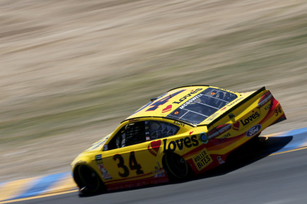 #34: Michael McDowell, Front Row Motorsports, Ford Fusion Love's Travel Stops / Roller Bites