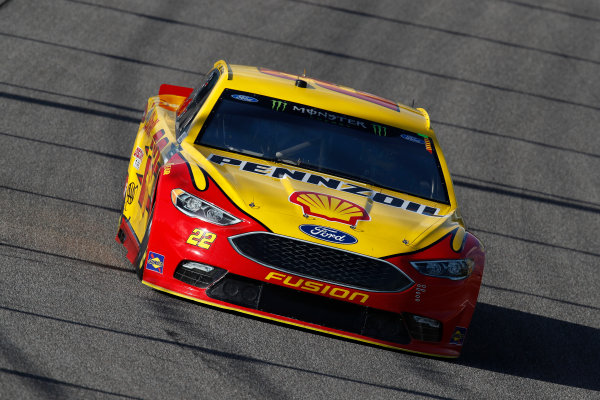 Monster Energy NASCAR Cup Series Ford EcoBoost 400 Homestead-Miami Speedway, Homestead, FL USA Friday 17 November 2017 Joey Logano, Team Penske, Ford Fusion World Copyright: Michael L. Levitt LAT Images