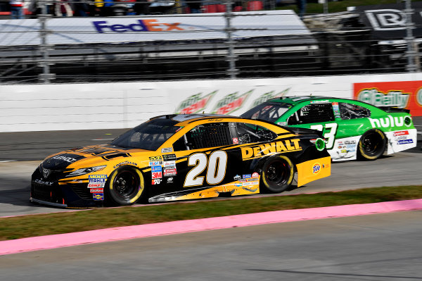 Monster Energy NASCAR Cup Series First Data 500 Martinsville Speedway, Martinsville VA USA Sunday 29 October 2017 Matt Kenseth, Joe Gibbs Racing, DEWALT Flexvolt Toyota Camry World Copyright: Rusty Jarrett LAT Images