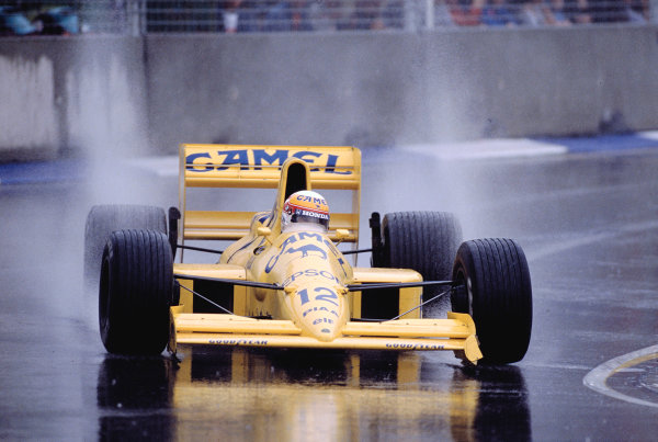 1989 Australian Grand Prix.