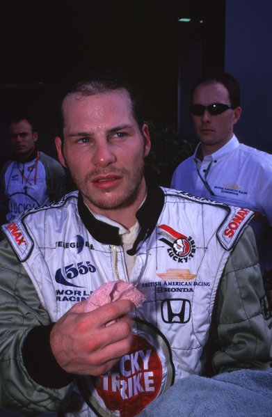 2000 Australian Grand Prix.Albert Park, Melbourne, Australia.10-12 March 2000.Jacques Villeneuve (B.A R. Honda) 4th position.Ref-2K AUS 45.World Copyright - LAT Photographic
