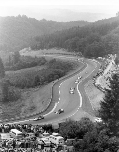 1972 German Grand Prix. Nurburgring.