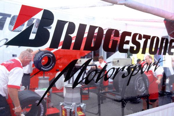 2004 French Grand PrixMagny-Cours, France. 2nd - 4th JulyThe bridgestone motorhome.World Copyright: LAT PhotographicRef:35mm Image A16