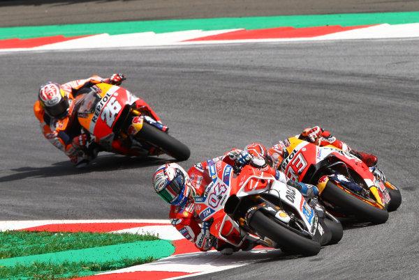 2017 MotoGP Championship - Round 11 Spielberg, Austria Sunday 13 August 2017 Andrea Dovizioso, Ducati Team World Copyright: Gold and Goose / LAT Images ref: Digital Image 686858