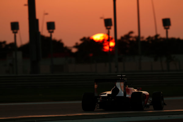 2014 GP3 Series Test 3.   Yas Marina Circuit, Abu Dhabi, United Arab Emirates. Saturday 29 November 2014. Artur Janosz (POL, Arden International)  Photo: Sam Bloxham/GP3 Series Media Service. ref: Digital Image _14P3050