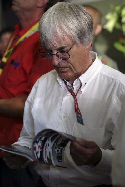 2006 German Grand Prix - Friday Practice Hockenheim, Germany. 27th - 30th July. Bernie Ecclestone, portrait. World Copyright: Steven Tee/LAT Photographic ref: Digital Image VY9E3154