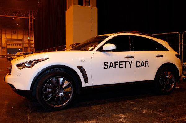 NEC, Birmingham. 16th January 2011.Nissan Infinity Safety car.World Copyright:Alastair Staley/LAT Photographicref: Digital Image _O9T2838