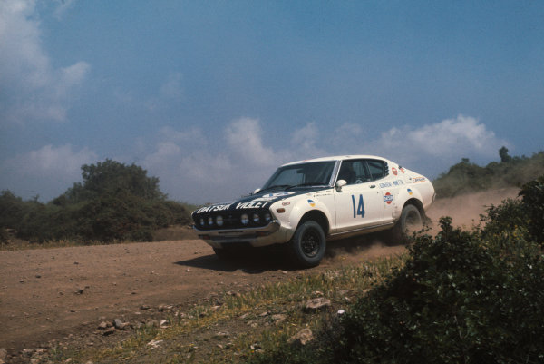 Acropolis Rally, Greece. 22-28 May 1976.