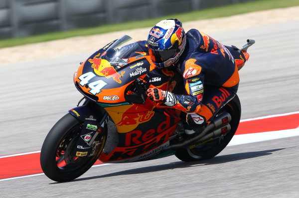 2017 Moto2 Championship - Round 3 Circuit of the Americas, Austin, Texas, USA Friday 21 April 2017 Miguel Oliveira, Red Bull KTM Ajo World Copyright: Gold and Goose Photography/LAT Images ref: Digital Image Moto2-500-2157