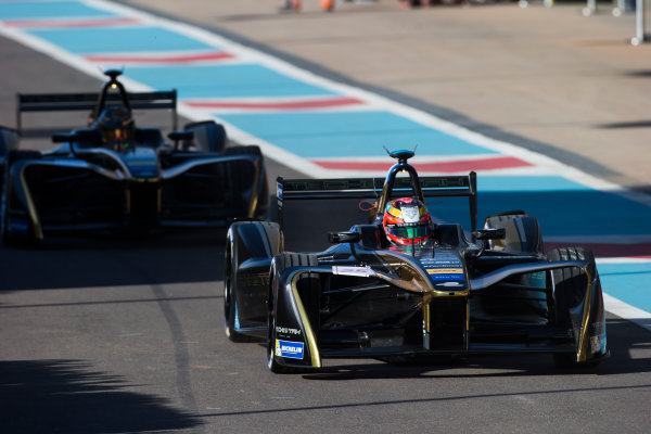 2016/2017 FIA Formula E Championship. Marrakesh ePrix, Circuit International Automobile Moulay El Hassan, Marrakesh, Morocco. Jean-Eric Vergne (FRA), Techeetah, Spark-Renault, Renault Z.E 16.  Friday 11 November 2016. Photo: Sam Bloxham/LAT/Formula E ref: Digital Image _SLA6676
