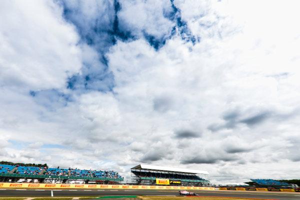 Silverstone, Northamptonshire, UK.  Friday 14 July 2017. Sergio Perez, Force India VJM10 Mercedes. World Copyright: Glenn Dunbar/LAT Images  ref: Digital Image _31I3093