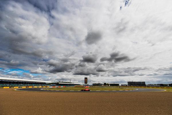 Silverstone, Northamptonshire, UK. Friday 14 July 2017. Sebastian Vettel, Ferrari SF70H. World Copyright: Zak Mauger/LAT Images ref: Digital Image _56I8661