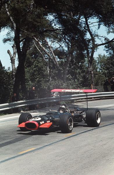 Monjuich Park, Barcelona, Spain.2-4 May 1969.Pedro Rodriguez (BRM P126).Ref-35mm 69 ESP 13.World Copyright - LAT Photographic