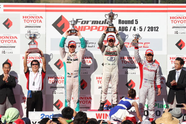 Round 5 - TWIN RING MOTEGI, Japan. 5th August 2012.