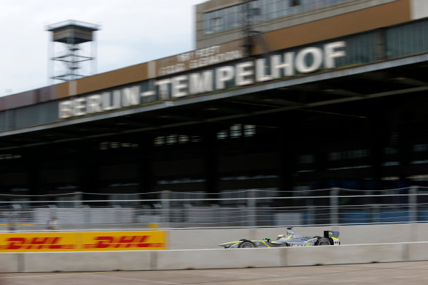 2014/2015 FIA Formula E Championship. Berlin ePrix, Berlin Tempelhof Airport, Germany. Saturday 23 May 2015 Charles Pic (FRA)/China Racing - Spark-Renault SRT_01E. Photo: Andrew Ferraro/LAT/Formula E ref: Digital Image _FER1089