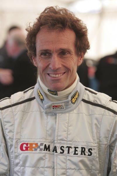 2005 GP Masters Testing Silverstone, England 26 - 27/10/05 Andrea de Cesaris, portrait.  World Copyright: Glenn Dunbar/ LAT Photographic Digital image only