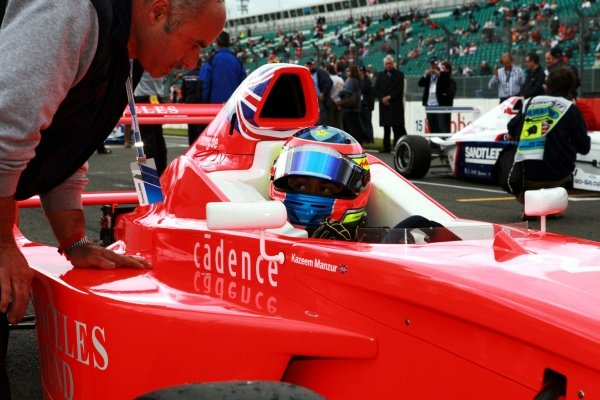 Kazeem Manzur (GBR) Josef Kaufmann Racing. Formula BMW Europe, Rd 3, Silverstone, England, 18-21 June 2009.