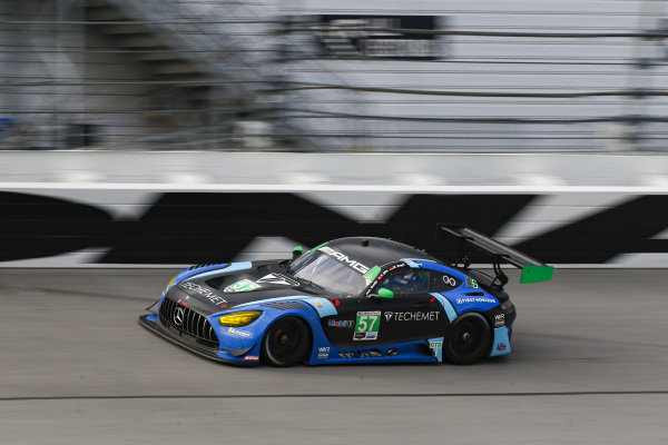 #57: Winward Racing Mercedes-AMG GT3, GTD: Russell Ward, Philip Ellis, Indy Dontje, Maro Engel