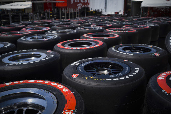 Hundreds of unused Firestone tires are returned