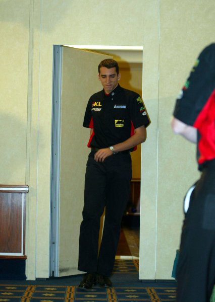 2002 Formula One Miardi Announcement